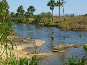 an image of a ranch creek in guyana