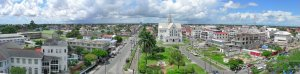A panoramic view of Georgetown, Guyana